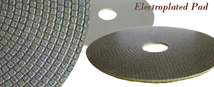 "4"" Electroplated Pads"