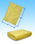 "JL Dust Magnetic Disposable Sheet 17""x24"" 50/pk"
