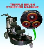"JL Triple Brush 27"" 18 HP (Kawasaki Engine) By Onyx"