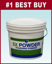5X Powder 25lb(Cleaning and Polishing for Marble)