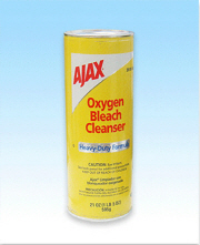 AJAX HEAVY DUTY OXYGEN BLEACH POWDER 21 OZ
