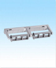 #R221 DOUBLE DISPENSER ALUMINUM