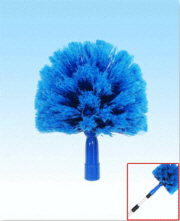 "Cobweb Duster Head Blue 8"" W/O Handle"