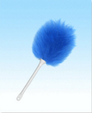 Mini Duster Blue 16""