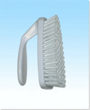 White Grout Brush
