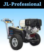 JL Professional Premium 4000 PSI w/ Honda engine, Belt-drive.