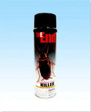 The End Insecticide Aerosol