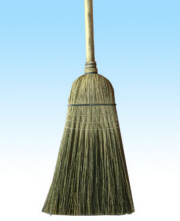 LARGE WAREHOUSE BROOM (VERY DURABLE) 57""
