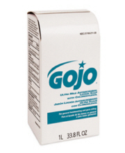 GOJO ULTRA MILD Anti-Microbial Lotion Soap w/ CHLOROXYLENOL Refill W/O Dispenser 1000 ML