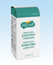 MICRELL Lotion Soap Anti-Bacterial Refill W/O Dispenser 1000 ML