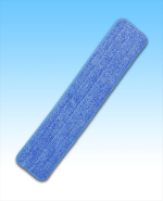 "Microfiber 24"" Blue Wet Mop"