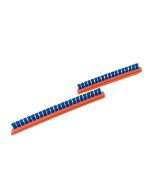 Brush Strip Orange 12""