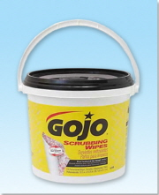 GOJO Scrubbing Wipes-170 Count Bucket