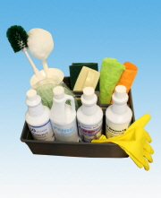 Shower Room Chemical & Tool Kit