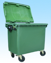 Outdoor Garbage Cart 174 Gal