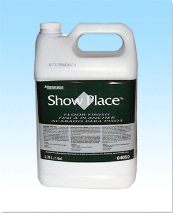 JOHNSON ShowPlace Floor Finish(GAL). Item # : 600120GL. List Price :