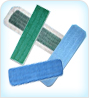 Commercial Microfiber Flat Mop Pads