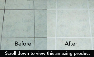 deep clean tile floor, ezgrout, mineral deposit remover, money back, 30seconds.