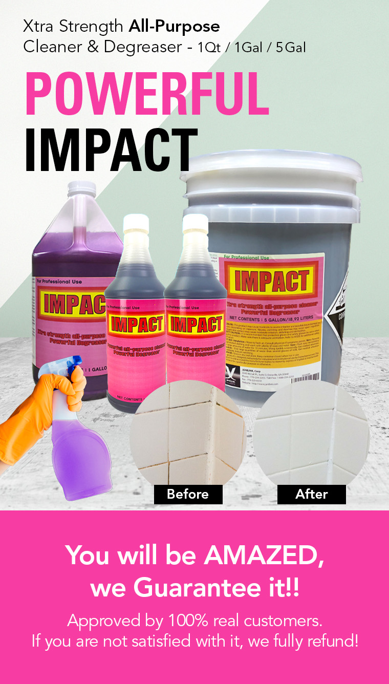 xtra strength, all purpose cleaner, powerful degreaser, for professional use.
