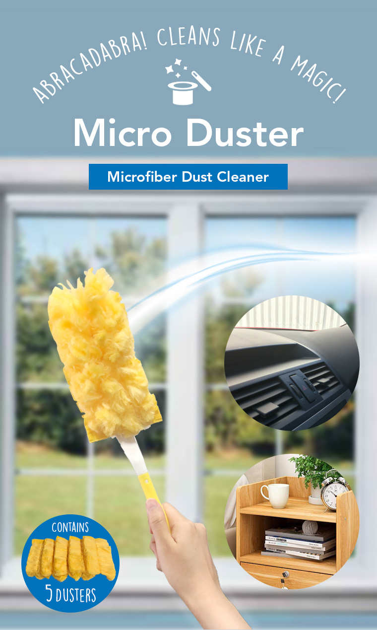 micro duster, microfiber dust cleaner.