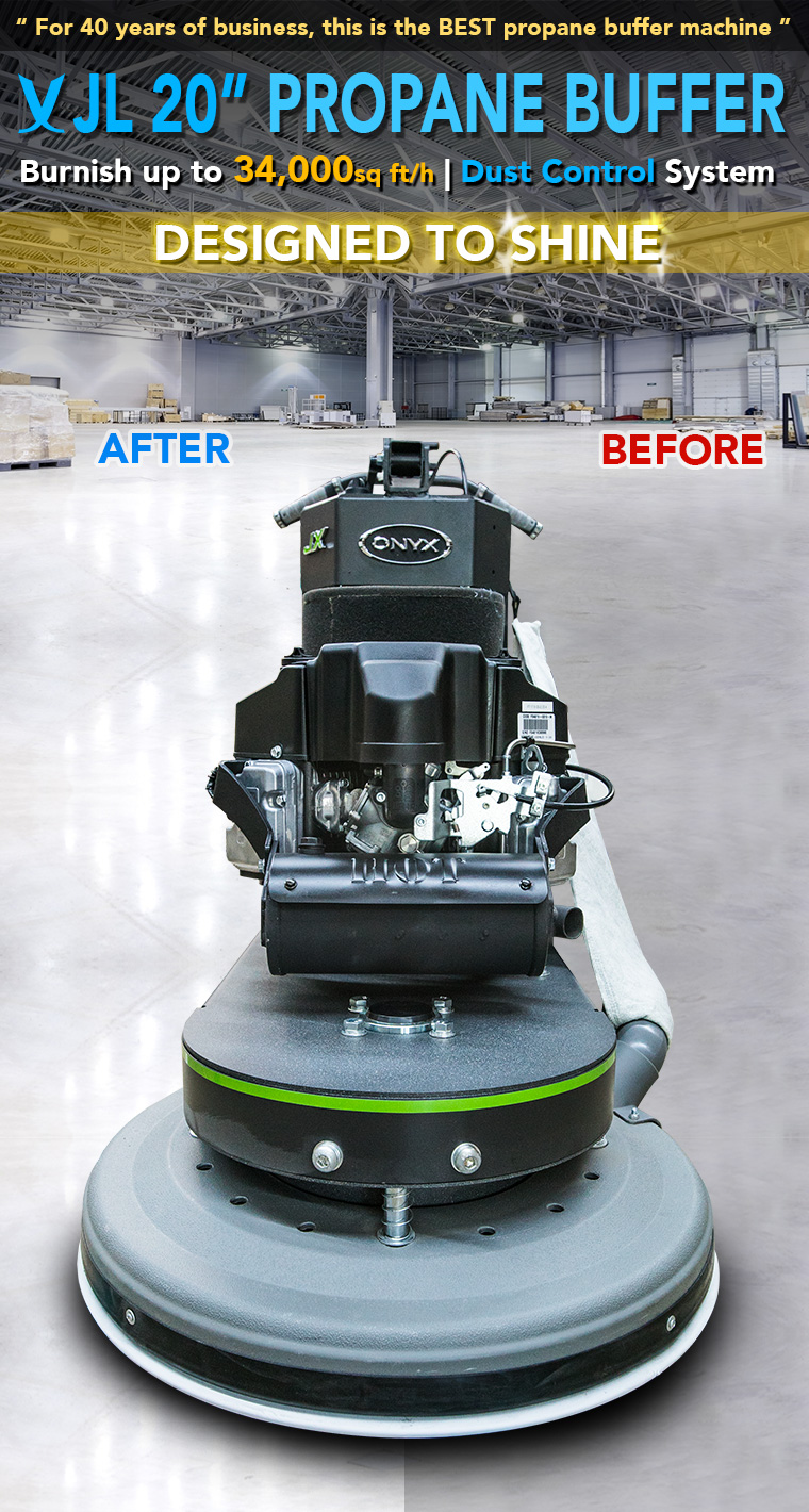 "Onyx  21/"" 18HP Propane Buffer BRAND NEW //////637601-ONYX Kawasaki Engine"