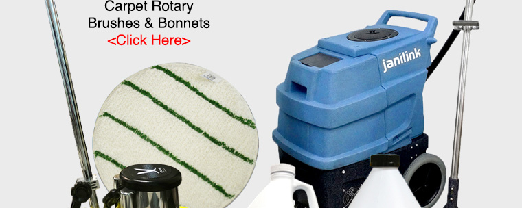 carpet rotary brushes bonnets.