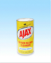 AJAX OXYGEN BLEACH POWDER CLEANSER 14 OZ