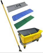 Professional Clean and Dry  Flat Mop kit