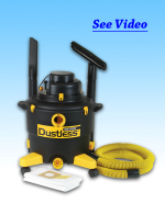 Wet/Dry Vacuum-Dustless Technologies
