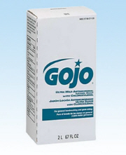 GOJO ULTRA MILD ANTIMICROBIAL LOTION SOAP W/CHLOROXYLENOL