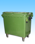 Outdoor/Indoor Trash Cart 24 cu. ft. (0.9 cu. yd)