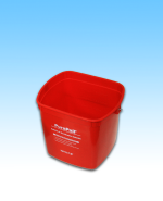 Red Sanitizing Bucket 6qt