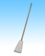 Screw Mop with Wood Handle SET