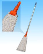 Screw Mop with Jaw Clamp and Aluminum Handle SET
