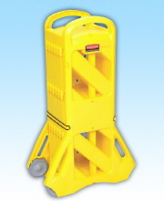 Rubbermaid Mobile Safety Barrier
