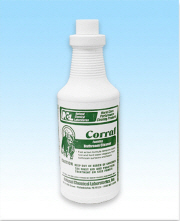 CORRAL FOAMING BATHROOM CLEANER QT