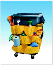 RUBBERMAID CADDY BAG YELLOW