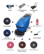 "Automatic Floor Scrubber JL 20"" B Loading System KIT"