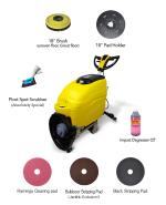 "Automatic Floor Scrubber 18"" JL E Bundle KIT"