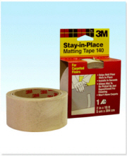 "3M Stay-in-Place Matting Tape 140 Carpeted Floor 2"" x 10"""