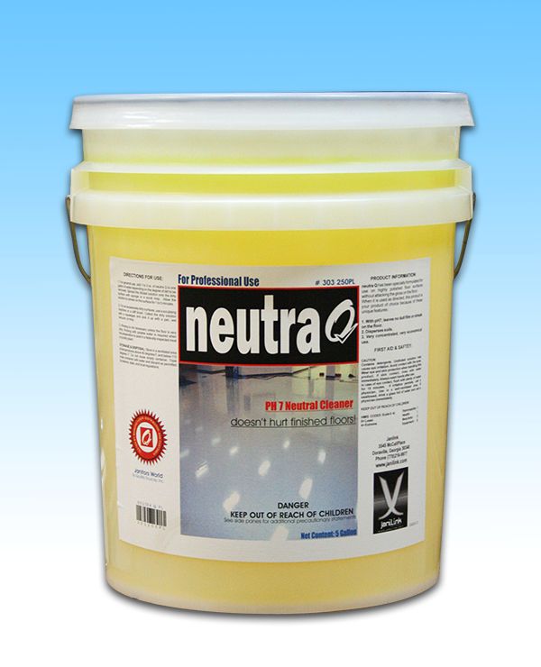 Floor Cleaning 101 How To Bring Back The Shine To Dull: NEUTRA Q Enhanced Floor Cleaner (5 GAL