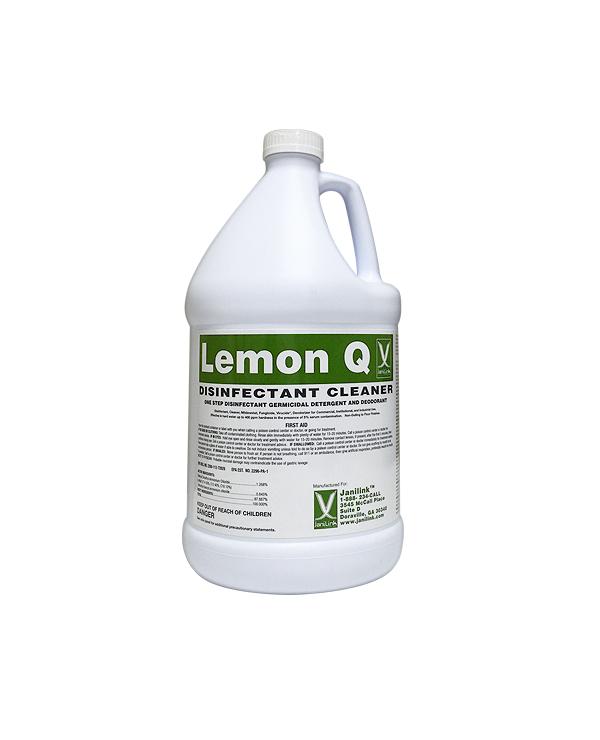 Lemon Q Disinfectant Cleaner Gal