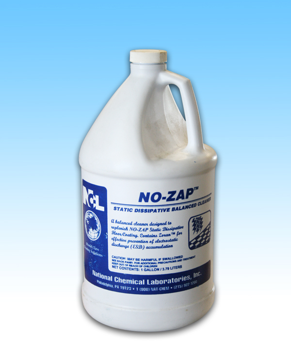 no zap anti static floor cleaner