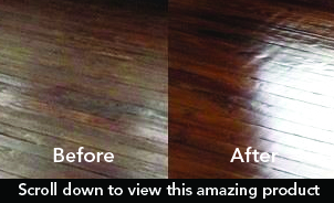 wood eze, one part water based urethane wood sealer, wax, restore, protects, shines.